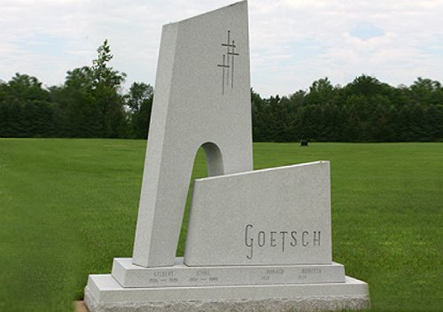 Photo Goetsch Family Granite Memorial