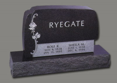 Photo of Upright Memorial Ryegate