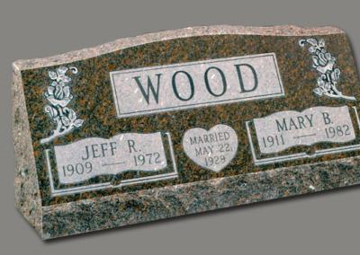 Photo of Slant Marker Wood