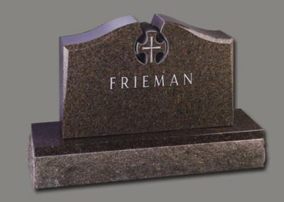 Photo of Upright Memorial Frieman