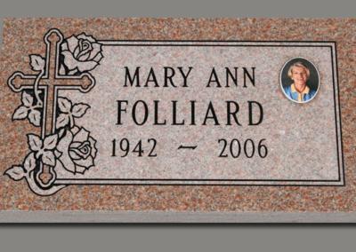 Flat Marker Folliard