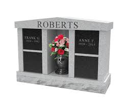 Photo of a Cremation Memorial Roberts